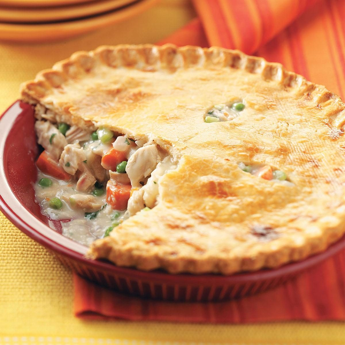 Turkey Potpies Recipe