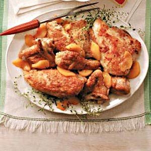 Sweet 'n' Savory Peach Chicken
