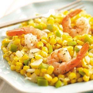 Herbed Shrimp Skillet