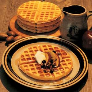 Grandpa's Autumn Waffles