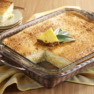Pineapple Dessert Squares