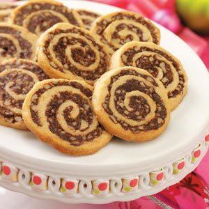 Fudgy Pinwheel Cookies
