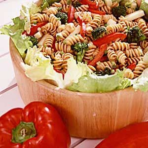 Whole-Wheat Pasta/Cheese Salad