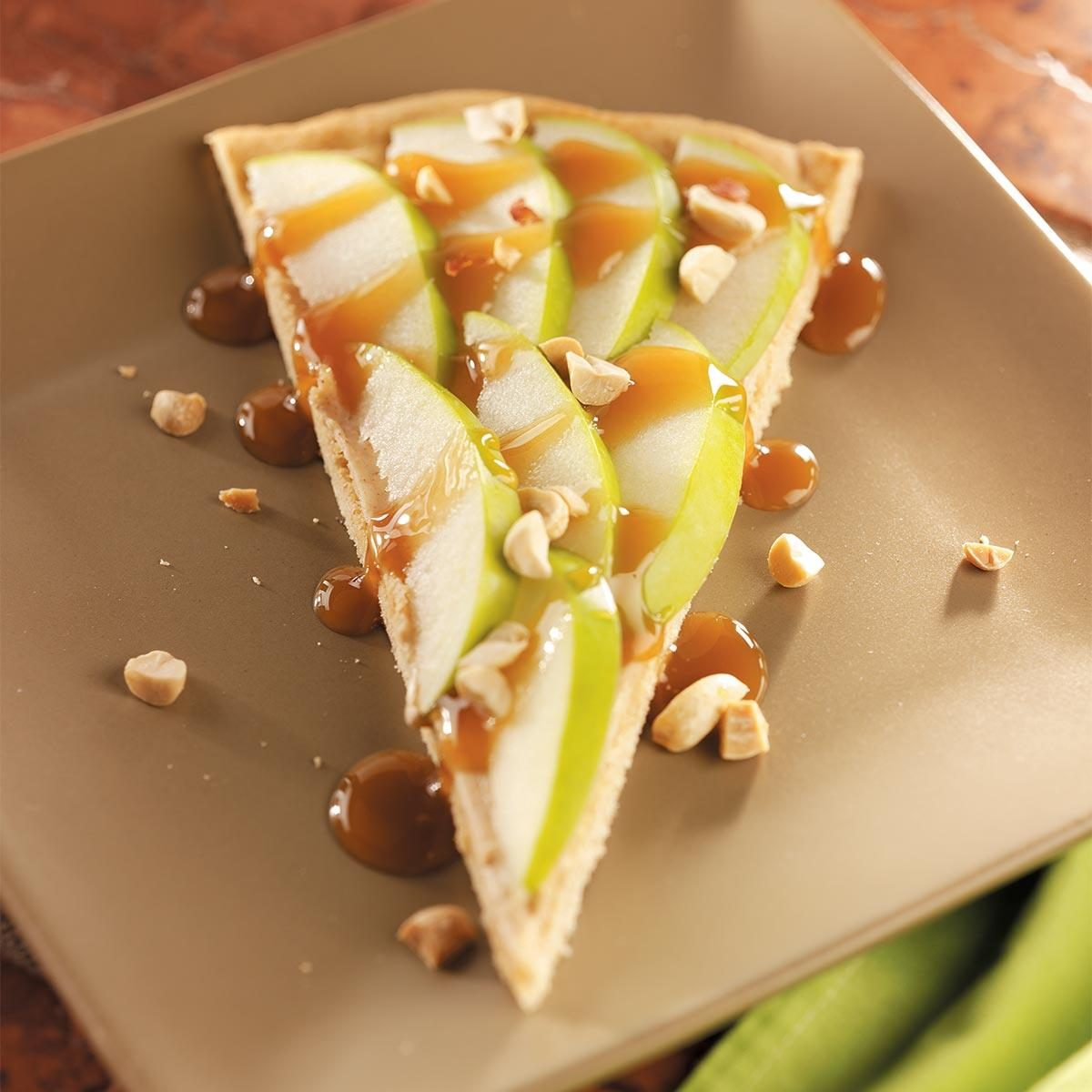 Caramel Apple Dessert Pizza Recipe