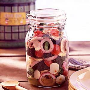 Homemade Marinated Vegetables