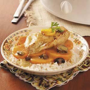 Orange Chicken with Sweet Potatoes