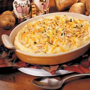 Almond Potato Puff