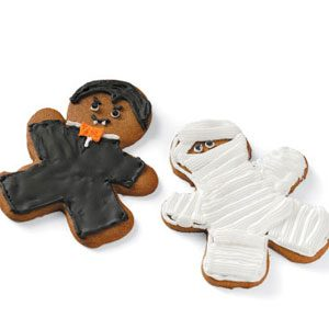 Monster Cutout Cookies