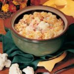 Cauliflower and Ham Casserole