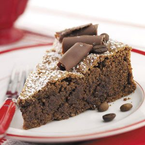 Almond Espresso Chocolate Cake