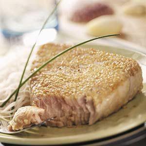 Sesame Tuna Steaks