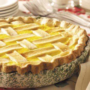 Lattice Corn Pie