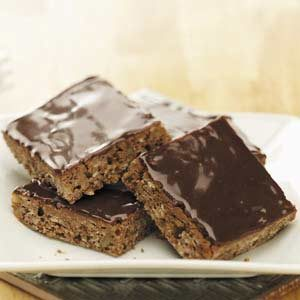Makeover Oatmeal Brownie Bars