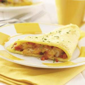 Hearty Shrimp Omelet