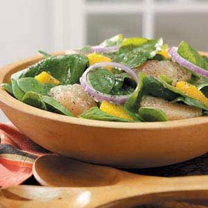 Spinach Citrus Salad