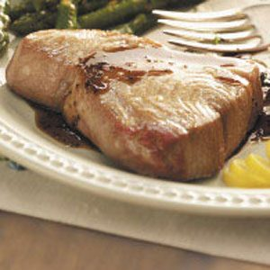 Balsamic-Glazed Tuna Steaks