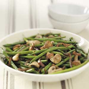 Asian Grilled Green Beans