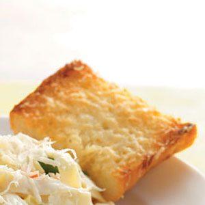 Buttery Parmesan Garlic Bread