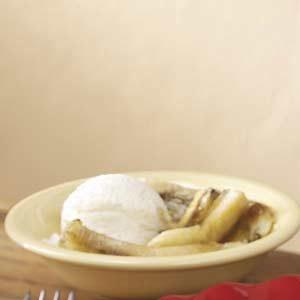 Ice Cream Banana Dessert