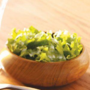 Salad Greens & Creamy Sweet Dressing