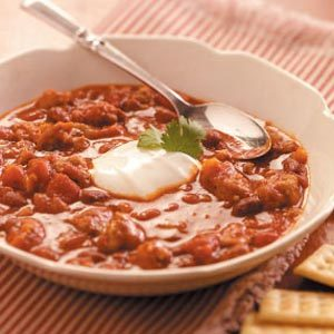 Hearty Sausage Chili
