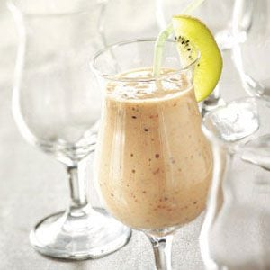 Kiwi Bananaberry Smoothies