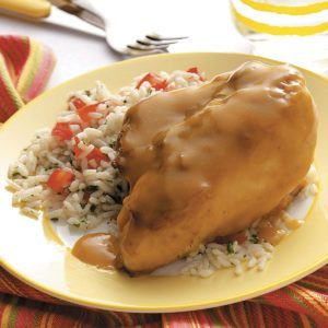 Lemon Chicken with Rice