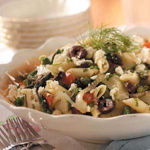 Asparagus-Fennel Pasta Salad