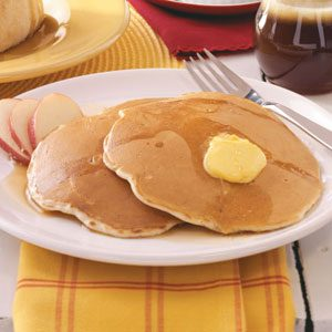 Quick Apple Pancakes