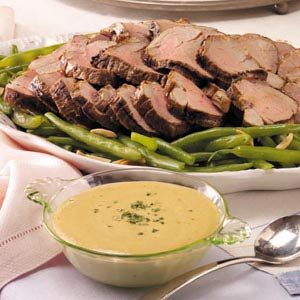 Grilled Marinated Pork Tenderloin