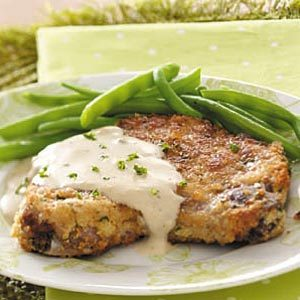 Makeover Pork Chops with Gravy