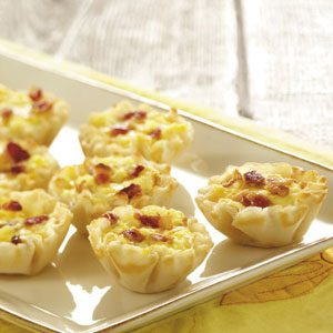 Makeover Mini Bacon Quiches