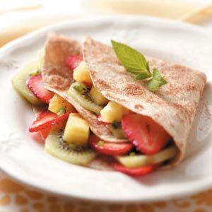 Fruity Dessert Tacos