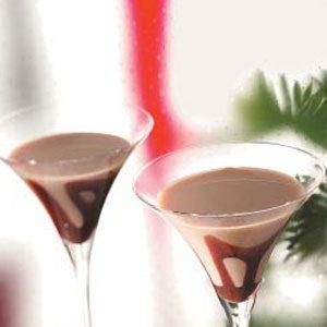 Caramel Vanilla Martinis