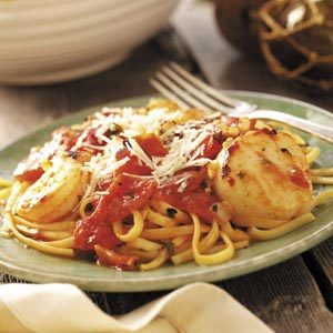 Seafood Medley with Linguine