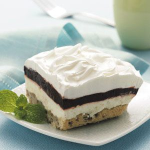 Layered Chocolate Pudding Dessert