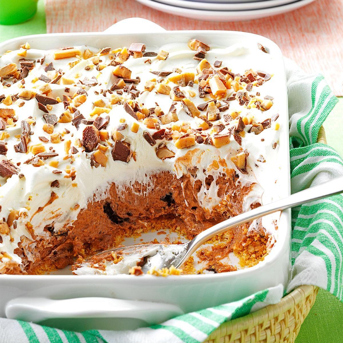 Chocolate Delight Dessert Recipe | Taste of Home