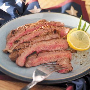 Homemade Marinated Flank Steak