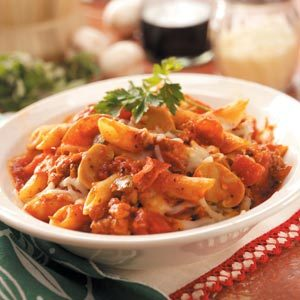 Meaty Pasta Casseroles