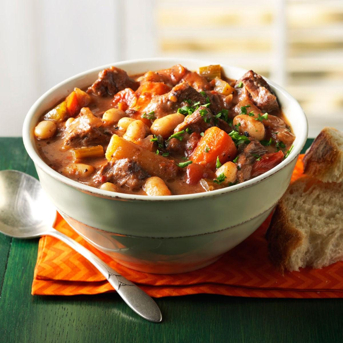 Wintertime Braised Beef Stew Recipe