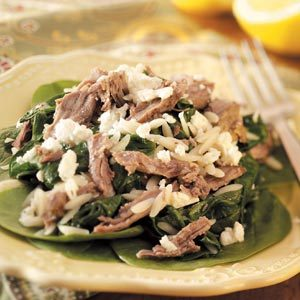 Lamb with Orzo