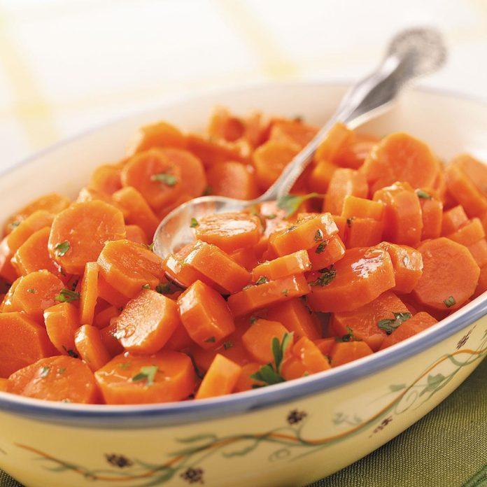 Glazed Orange Carrots
