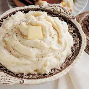 Fluffy Creamed Potatoes