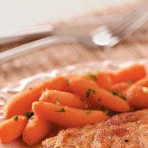 Mango-Chutney Baby Carrots