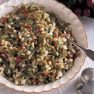 Overnight Vegetable Salad