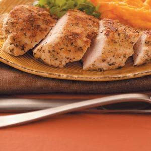 Dijon-Crusted Chicken Breasts