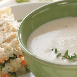 Favorite Cream of Cauliflower Soup