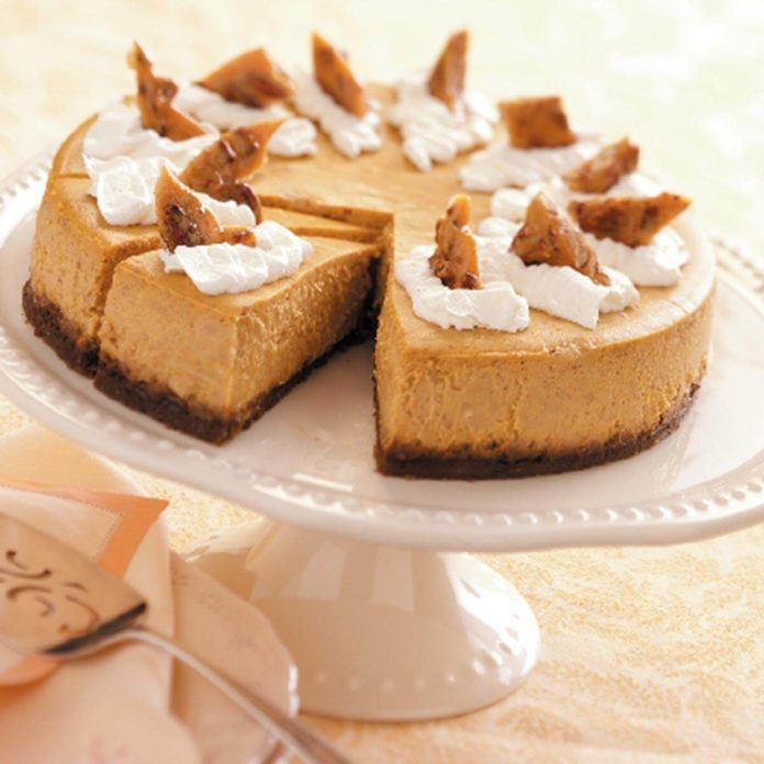 Pumpkin Cheesecake Deluxe
