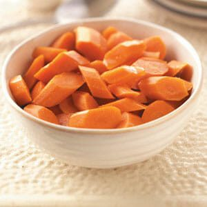 Spiced Glazed Carrots