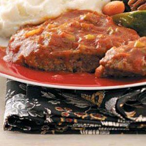 Saucy Beef Patties